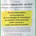 serata accoglienza castello fiemme 150x150 30 novembre Giornata contro la Pena di Morte