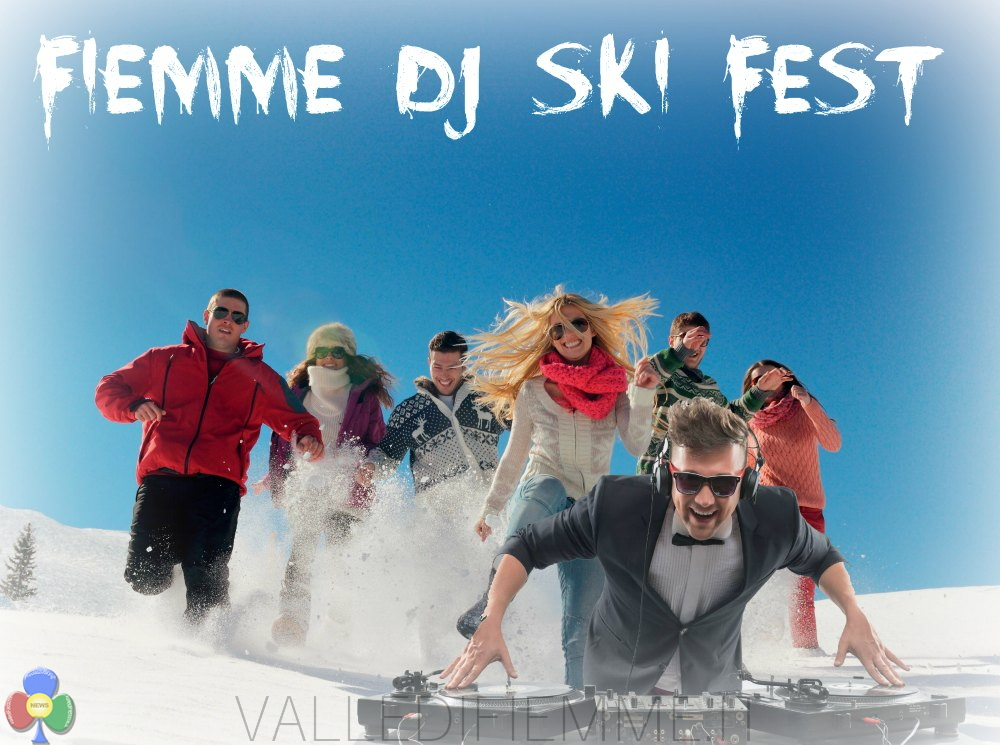Fiemme dj ski fest evento valledifiemme Fiemme Dj Ski Fest, neve e piste perfette