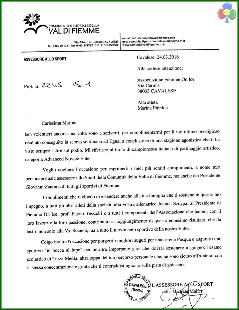 piredda malfer Marina Piredda campionessa italiana di Pattinaggio Artistico