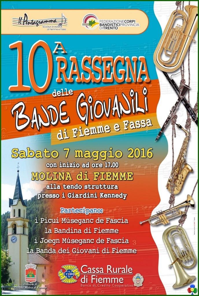 10 rassegna bande giovanili fiemme fassa 688x1024 10° Rassegna Bande Giovanili di Fiemme e Fassa