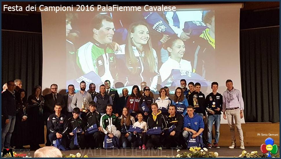 festa dei campioni 2016 fiemme La Festa dei Campioni accende il PalaFiemme