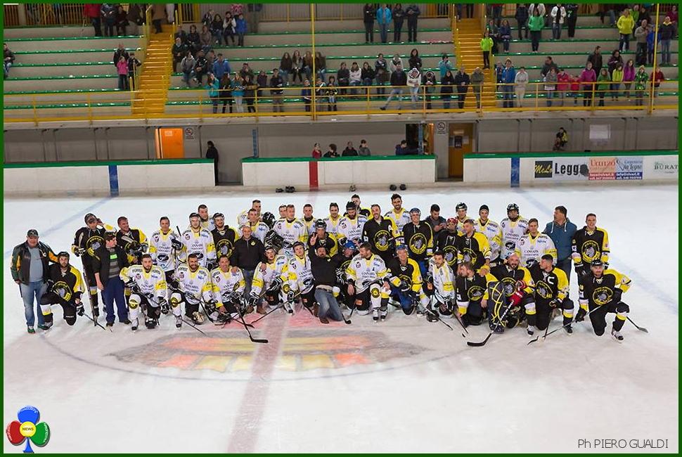 fossa giallonera hockey fiemme Parto per Fiemme, Ok ce la giochiamo, anzi Hockey!