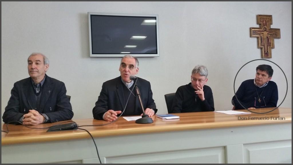 nomine vescovo lauro don ferruccio furlan 1024x579 Don Ferruccio Furlan nominato Vicario dal Vescovo Lauro Tisi
