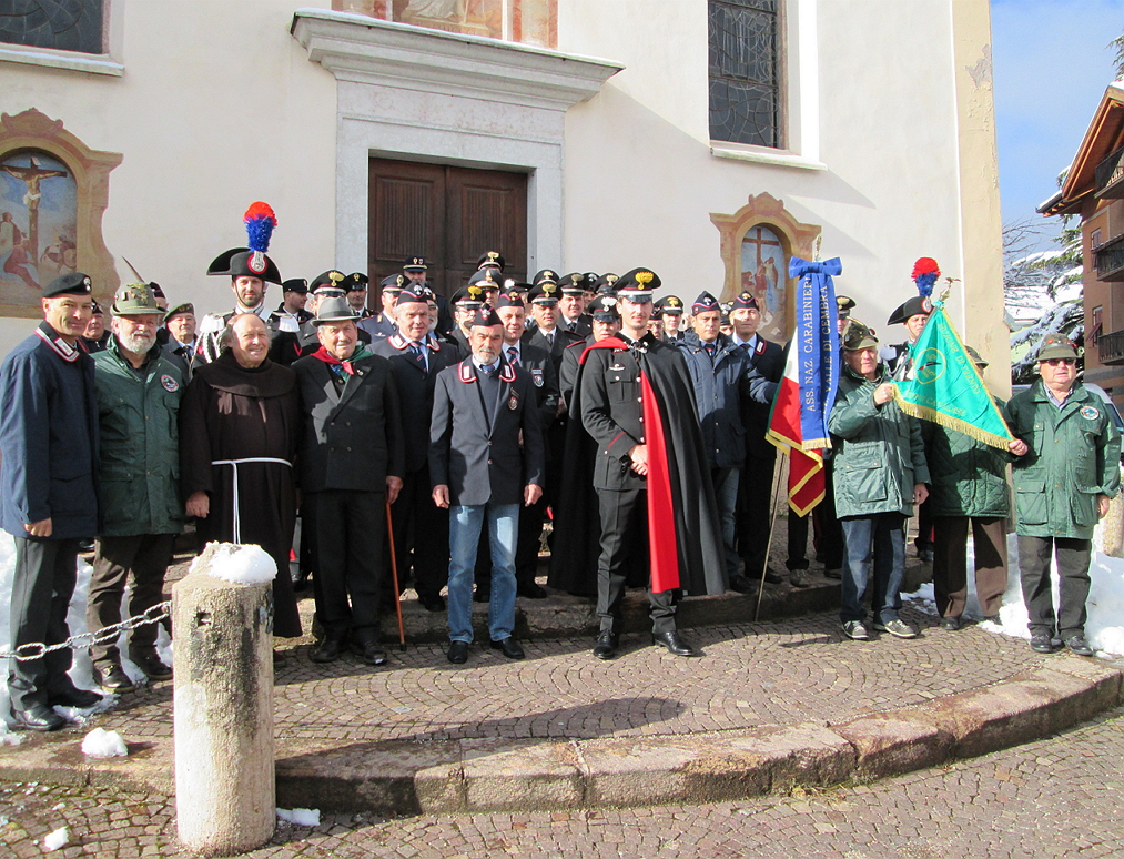 carabinieri cavalese raduno Raduno dei Carabinieri in congedo a Cavalese