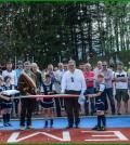 inaugurato campo sportivo sintetico cavalese