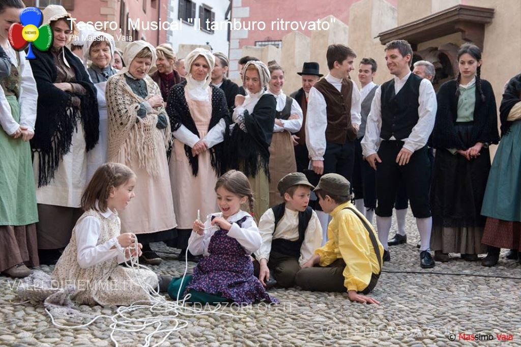 """musical il tamburo ritrovato tesero fiemme54 Il musical Made in Fiemme """"Il Tamburo Ritrovato"""""""