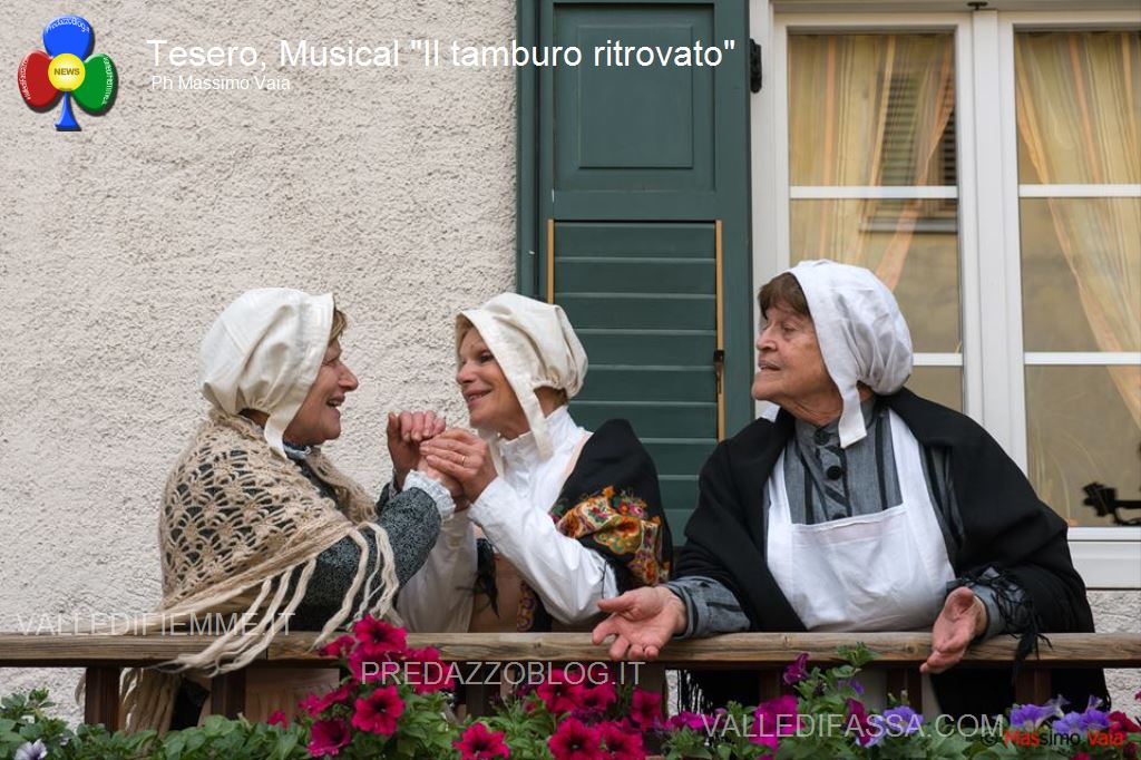 """musical il tamburo ritrovato tesero fiemme56 Il musical Made in Fiemme """"Il Tamburo Ritrovato"""""""