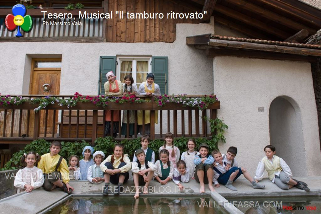 """musical il tamburo ritrovato tesero fiemme65 Il musical Made in Fiemme """"Il Tamburo Ritrovato"""""""