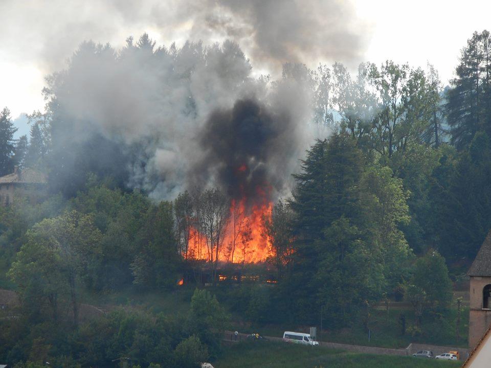 renato bernardi Cavalese, incendio a Villa Covi