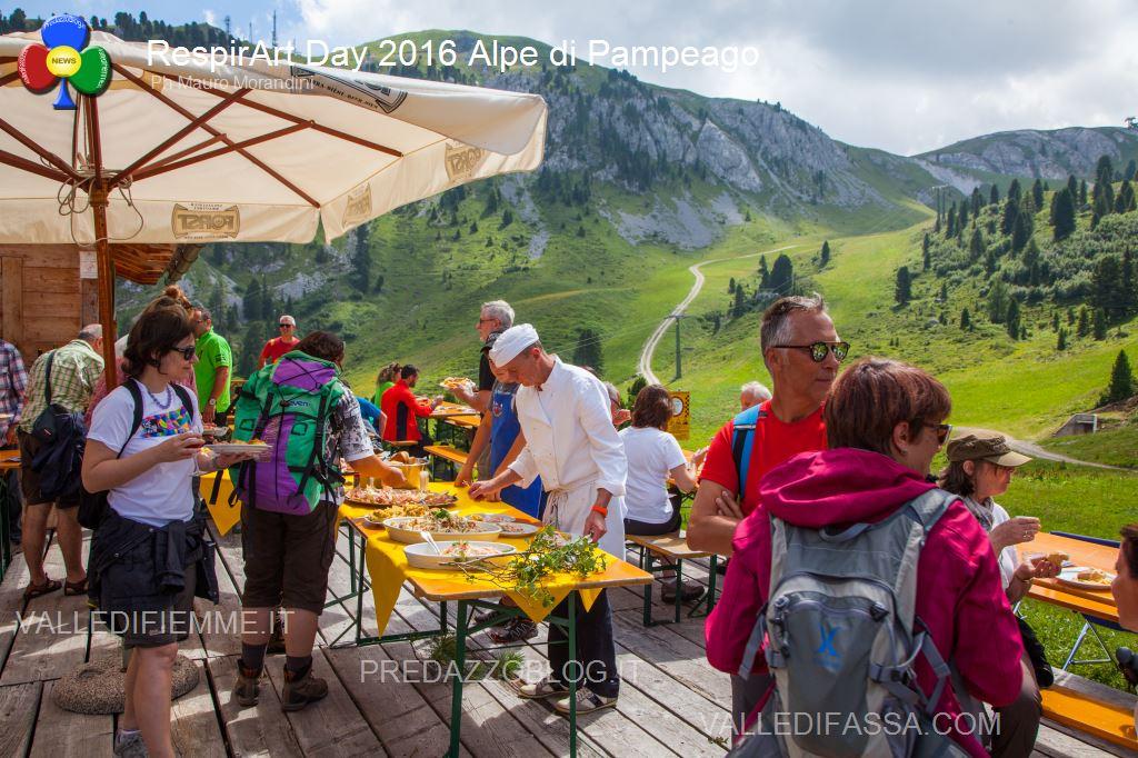 Il RespirArt Day 2016 alpe di pampeago fiemme61 Inaugurate 5 nuove opere in quota nel Parco d'Arte RespirArt