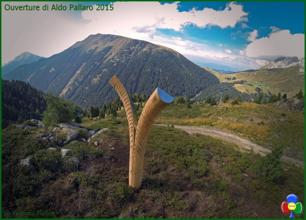 Ouverture di Aldo Pallaro 2015 ph Federico Modica 1024x737 Artisti in quota nel Parco d'Arte RespirArt