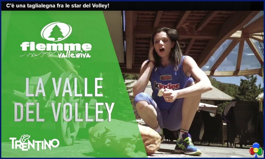 Serena Ortolani volley 1024x614 La Nazionale Femminile di Volley .. profuma di bosco   Video