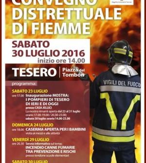 convegno distrettuale vigili del fuoco tesero 2016