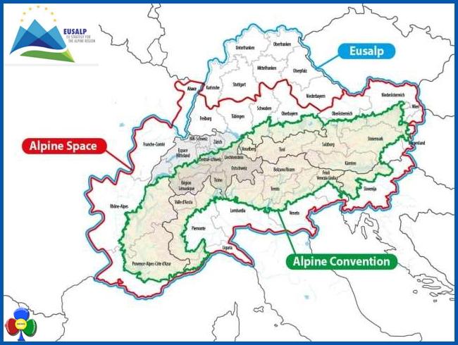 eusalp alpi Il Consiglio europeo approva la Macroregione alpina