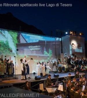 il tamburo ritrovato primo spettacolo live lago di tesero7