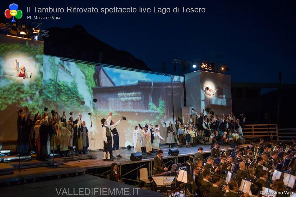 il tamburo ritrovato primo spettacolo live lago di tesero7 Il Tamburo Ritrovato tutto esaurito a Lago! Si replica