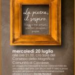 la pietra il sospiro 150x150 Grande successo per Rondoni, Buscaroli e Taioli