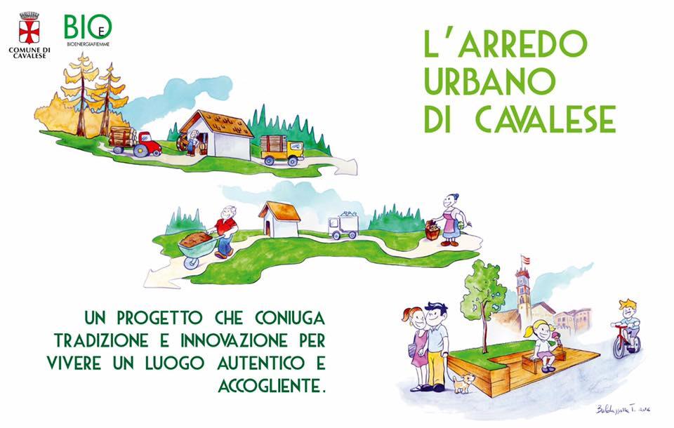 arredo urbano cavalese Legno e verde per il nuovo arredo urbano di Cavalese
