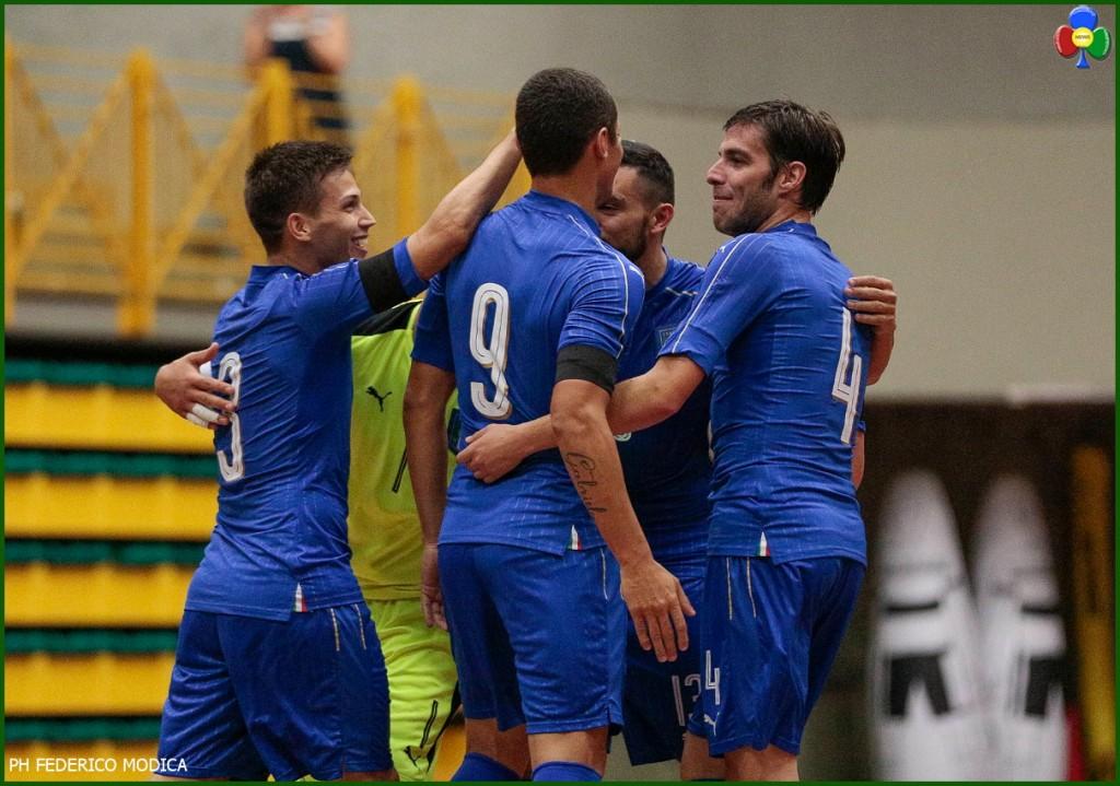 calcio a 5 cavalese 1024x719 Calcio a 5 partita a Cavalese: Italia   Ucraina
