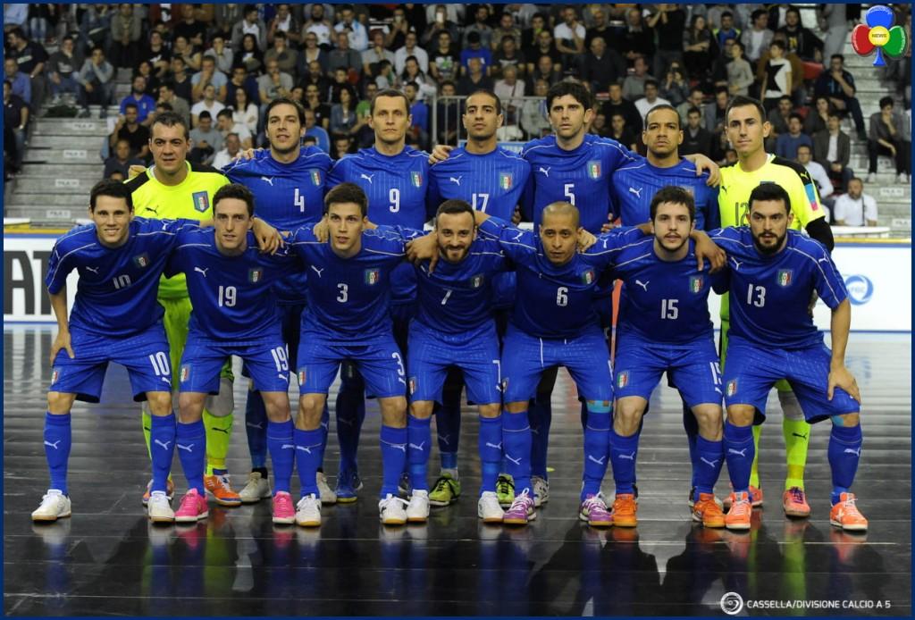 nazionale italiana calcio a 5 1024x694 Nazionale Italiana di Calcio a 5 in Valle di Fiemme