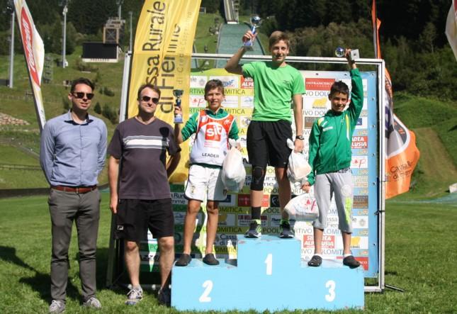 podio maschile 1 Il Trofeo Pietro Pertile a Monteleone, Bortolas e Sieff