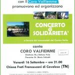 Concerto Coro Val Fiemme pro Terremotati Centro Italia 150x150 Concerto di beneficenza con Alice Dondio e Matteo Scalet