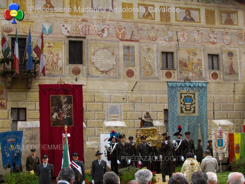 cavalese processione madonna addolorata 18.9.16 valledifiemme30 Cavalese, rinnovato il voto alla Madonna Addolorata   Foto