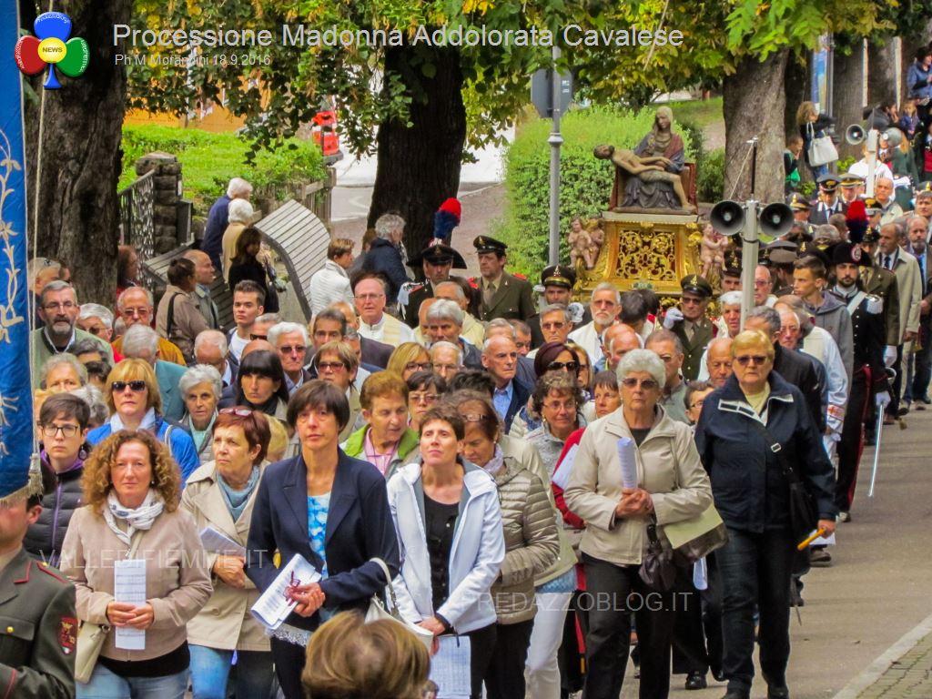 cavalese processione madonna addolorata 18.9.16 valledifiemme81 Cavalese, rinnovato il voto alla Madonna Addolorata   Foto