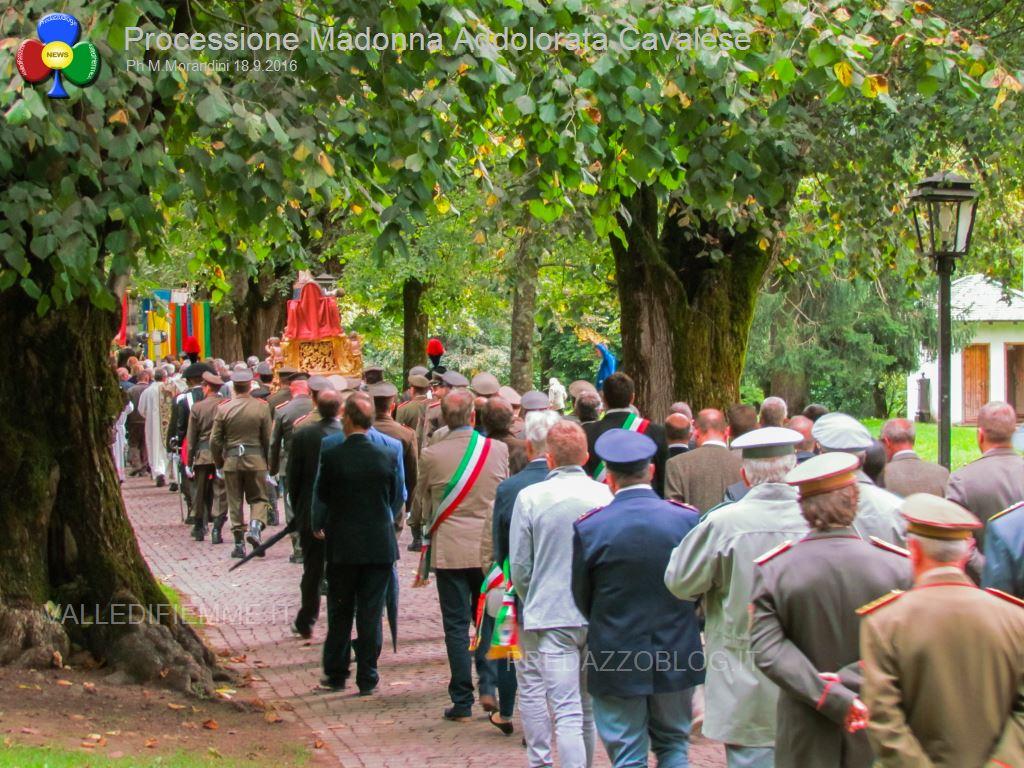 cavalese processione madonna addolorata 18.9.16 valledifiemme99 Schützenkompanie Fleimstal, non gradita alla processione