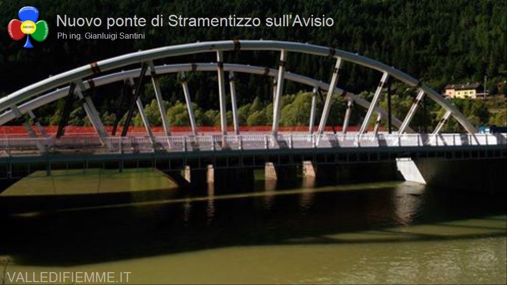 nuovo ponte di stramentizzo avisio fiemme12 Aperto il nuovo ponte di Stramentizzo, con 2 mesi di anticipo