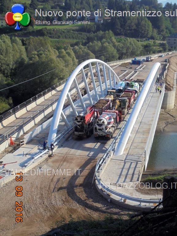 nuovo ponte di stramentizzo avisio fiemme15 Aperto il nuovo ponte di Stramentizzo, con 2 mesi di anticipo