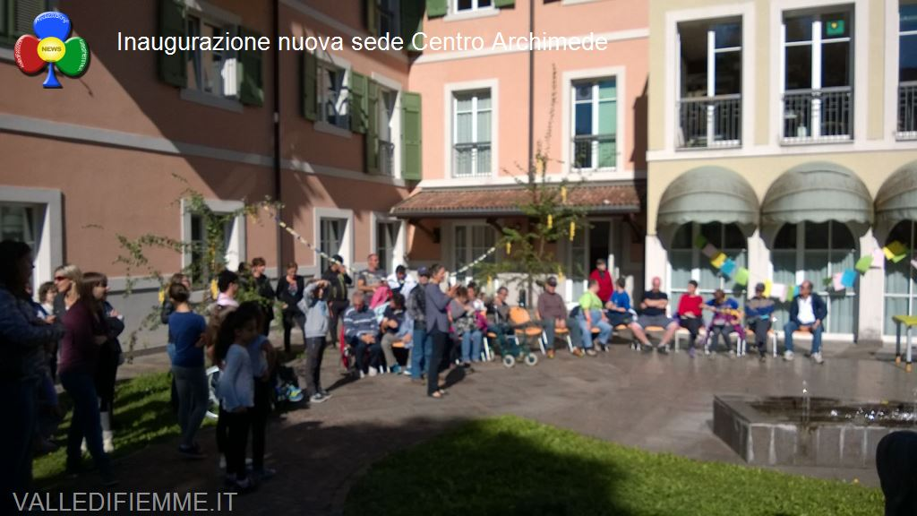 cavalese inaugurazione sede archimede1 Centro Archimede Cavalese, inaugurata la nuova sede