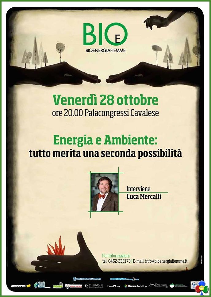 energia e ambiente luca mercalli cavalese Energia e Ambiente, serata con Luca Mercalli a Cavalese