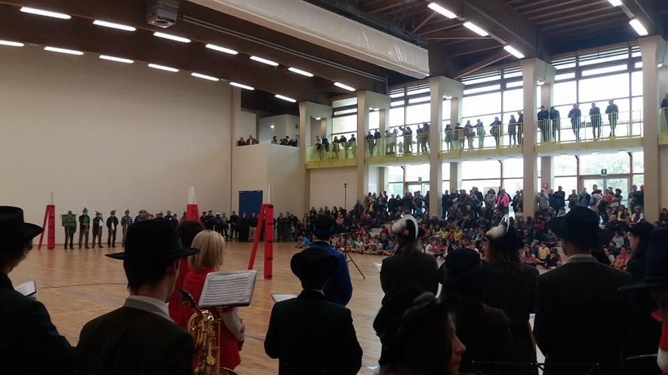 inaugurazione palestra mirandola alberto zeni Inaugurata a Mirandola la Palestra solidale di Fiemme