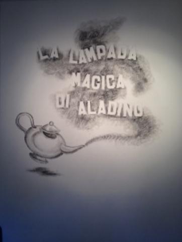 aladino 1 La lampada di Aladino a Cavalese