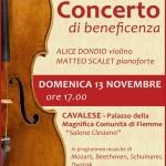 concerto beneficenza matteo scalet alice dondio 150x150 Concerto pro terremotati a Cavalese