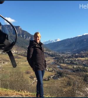 Hellen Hidding in Val di Fiemme