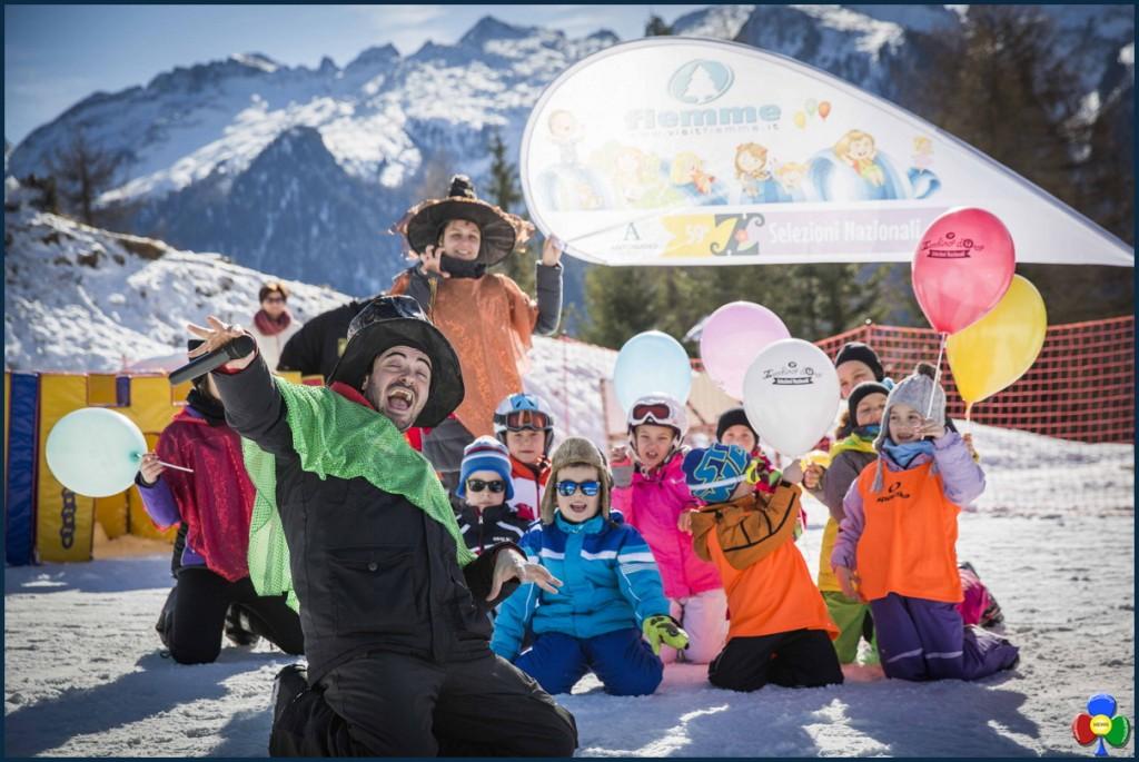 LA SETTIMANA DELLO ZECCHINO DORO SULLA NEVE DI FIEMME p 1024x685 Lo Zecchino dOro torna in Val di Fiemme