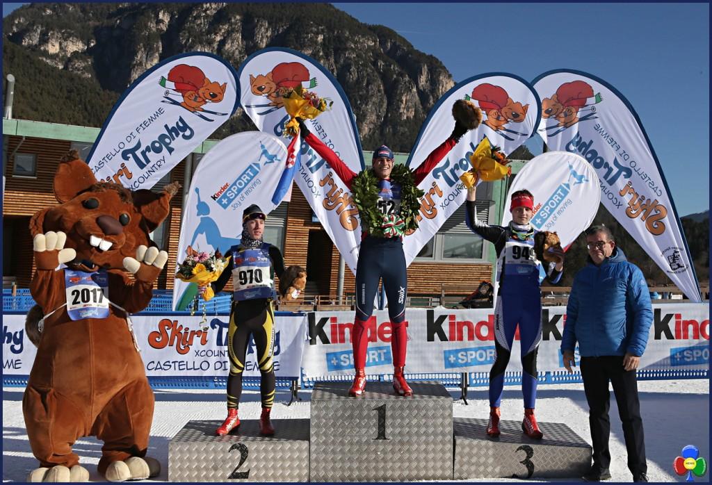 Skiri Trophy XCountry fiemme 2017 podio masc 1024x698 35.a edizione dello Skiri Trophy XCountry in Val di Fiemme