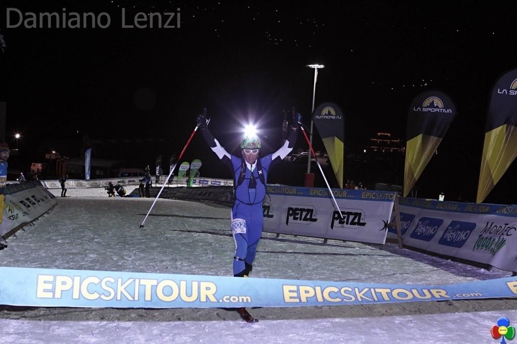 damiano lenzi 1024x682 1°Epic Ski Tour, a Lenzi e Desilvestro la tappa Cermis