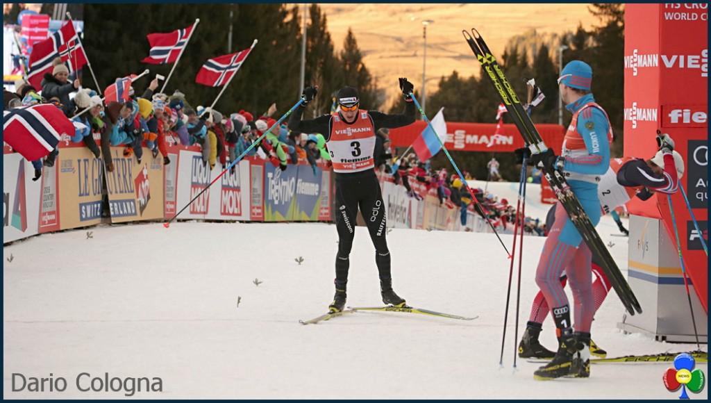 dario cologna 1024x580 11° Tour de Ski Val di Fiemme, Sergey Ustiugov doma il leone Sundby