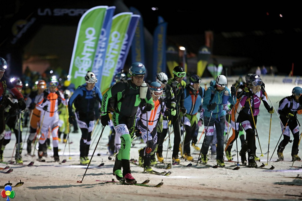 epic ski tour cermis partenza 1024x682 1°Epic Ski Tour, a Lenzi e Desilvestro la tappa Cermis