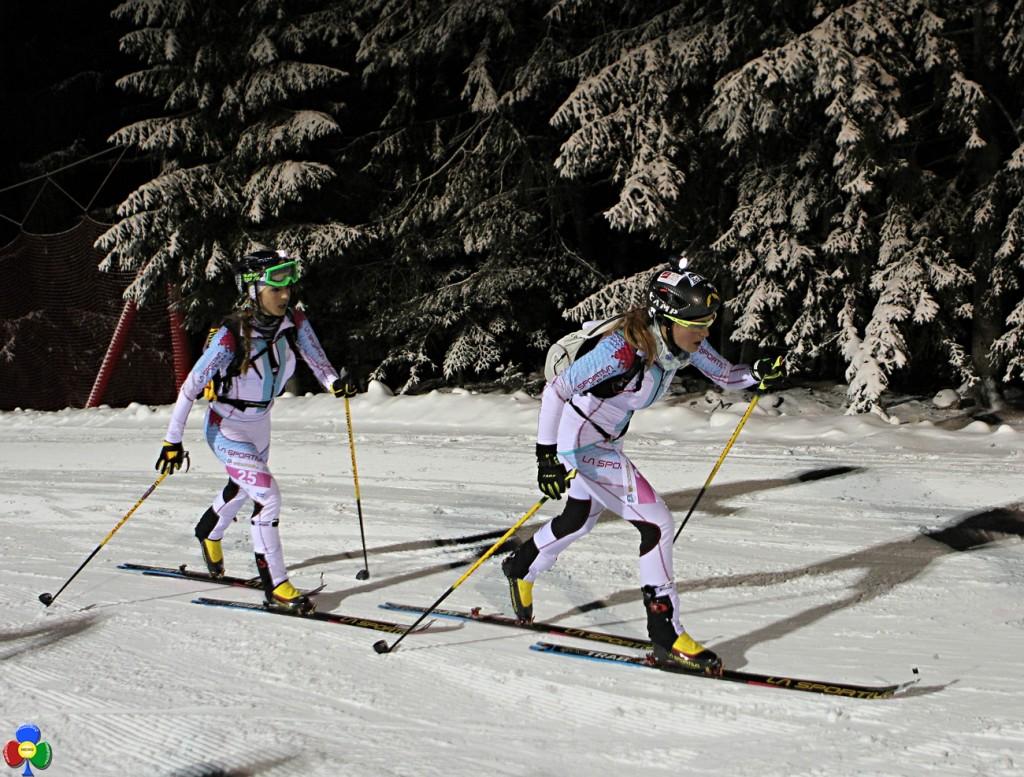 epic ski tour donne 1024x777 1°Epic Ski Tour, a Lenzi e Desilvestro la tappa Cermis