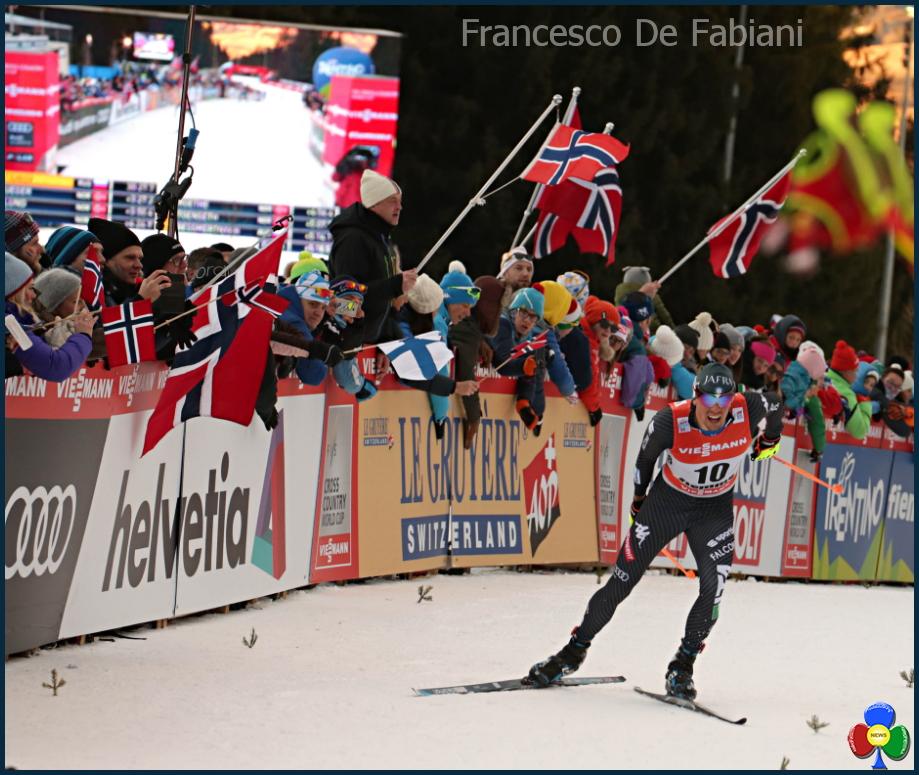 francesco de fabiani tour de ski 11° Tour de Ski Val di Fiemme, Sergey Ustiugov doma il leone Sundby