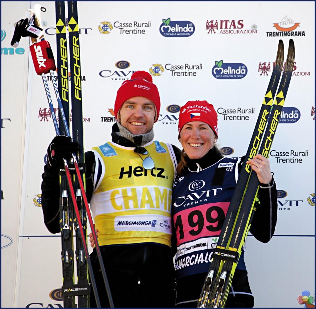 vincitrice marcialonga 2017 1024x1000 Marcialonga 2017 Gjerdalen cala il tris, 7541 concorrenti