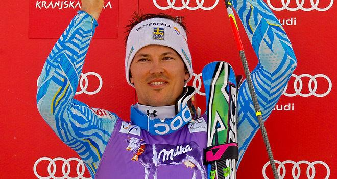 Andre Myhrer Nazionale Svezia Sci Alpino Mondiali di sci, la Svezia si allena in Val di Fiemme