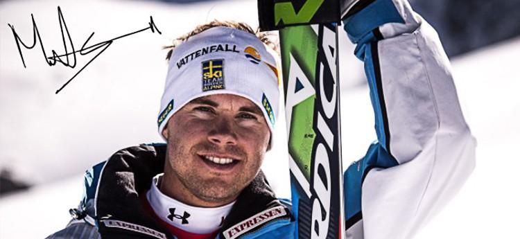 Matts Olsson Nazionale Svezia Sci Alpino Mondiali di sci, la Svezia si allena in Val di Fiemme