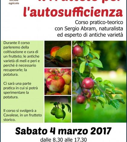 locandina corso frutteto