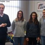 Silvia Campione e Matilde Goss1 150x150 Gli azzurri del volley incontrano gli studenti in Val di Fiemme