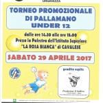 locandina torneo pallamano 150x150 Torneo di Pallamano a Cavalese 11 marzo 2018